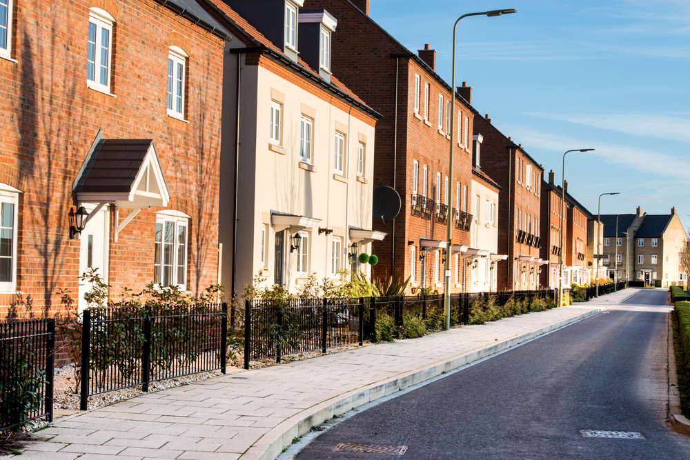 New surge in property supply throughout the United Kingdom
